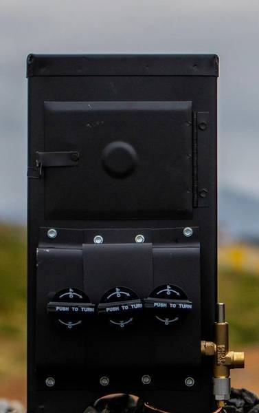 Bilde av Komplett gassovn M4300,