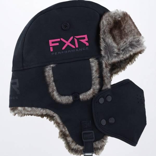 Bilde av FXR Trapper Hat 22, black/el